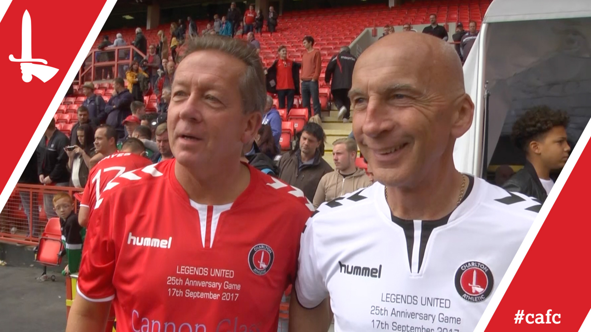 LEGENDS UNITED | Alan Curbishley and Steve Gritt pleased with return