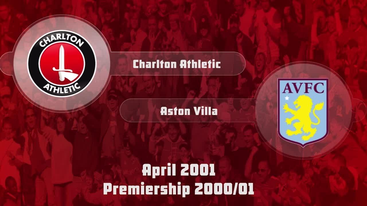 39 HIGHLIGHTS | Charlton 3 Aston Villa 3 (April 2001)