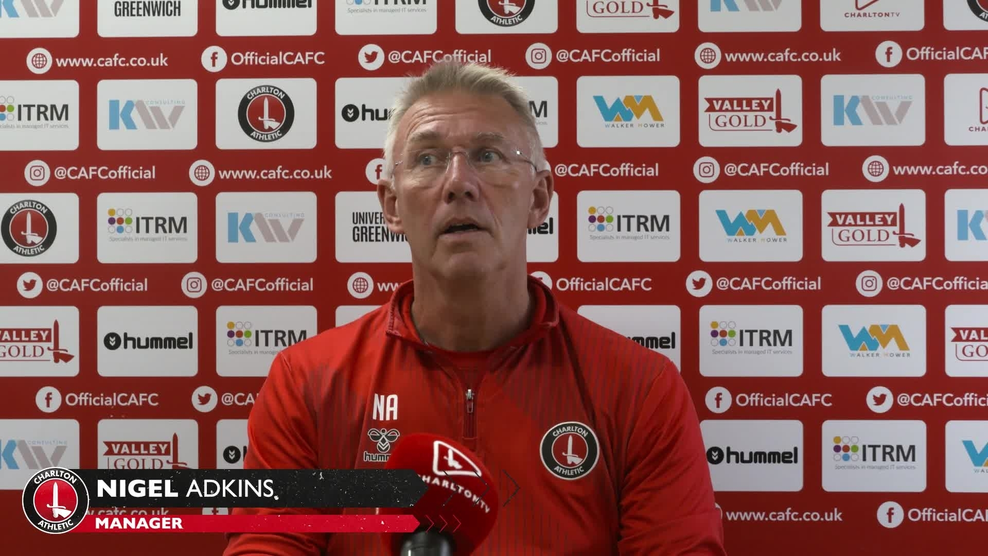 Nigel Adkins' pre-Cheltenham press conference (September 2021)
