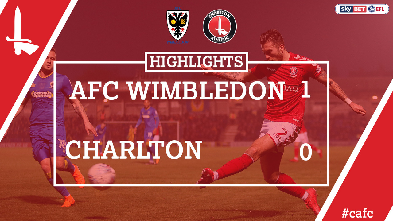 50 HIGHLIGHTS | AFC Wimbledon 1 Charlton 0 (April 2018)