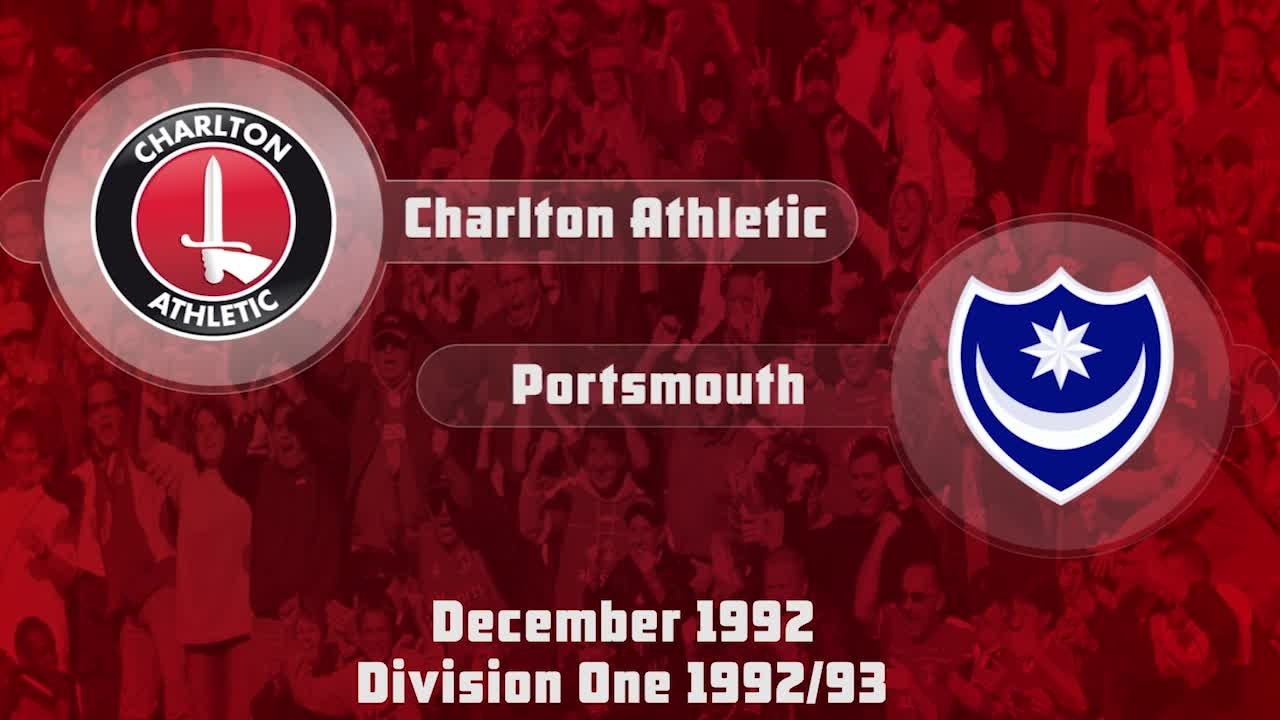 24 HIGHLIGHTS | Charlton 1 Portsmouth 0 (Dec 1992)