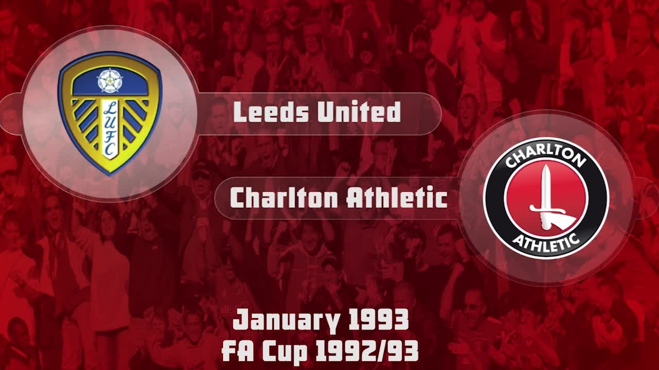 29 HIGHLIGHTS | Leeds 1 Charlton 1 (FA CUP Jan 1993)