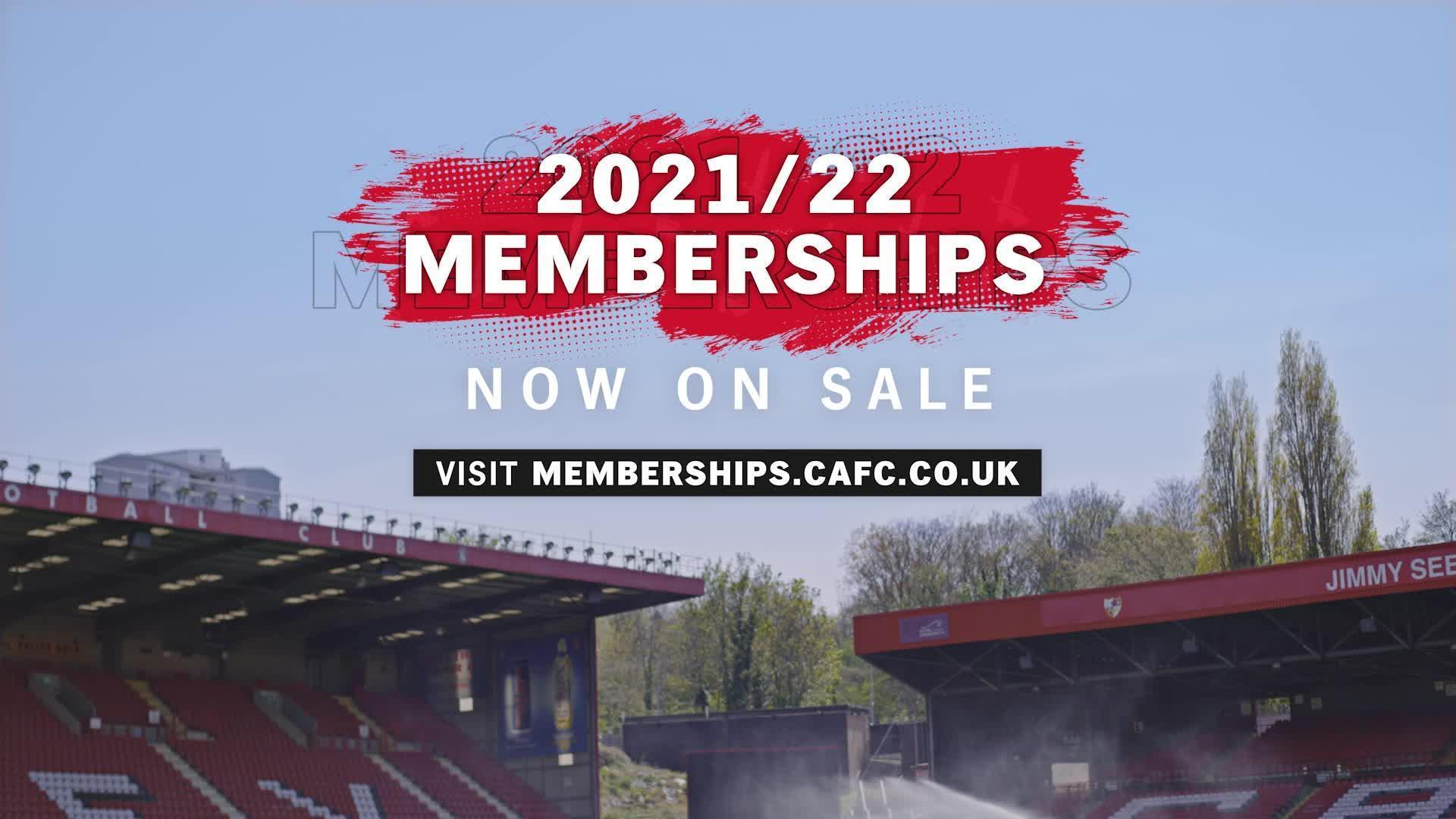 2021/21 memberships now on sale (June 2021)