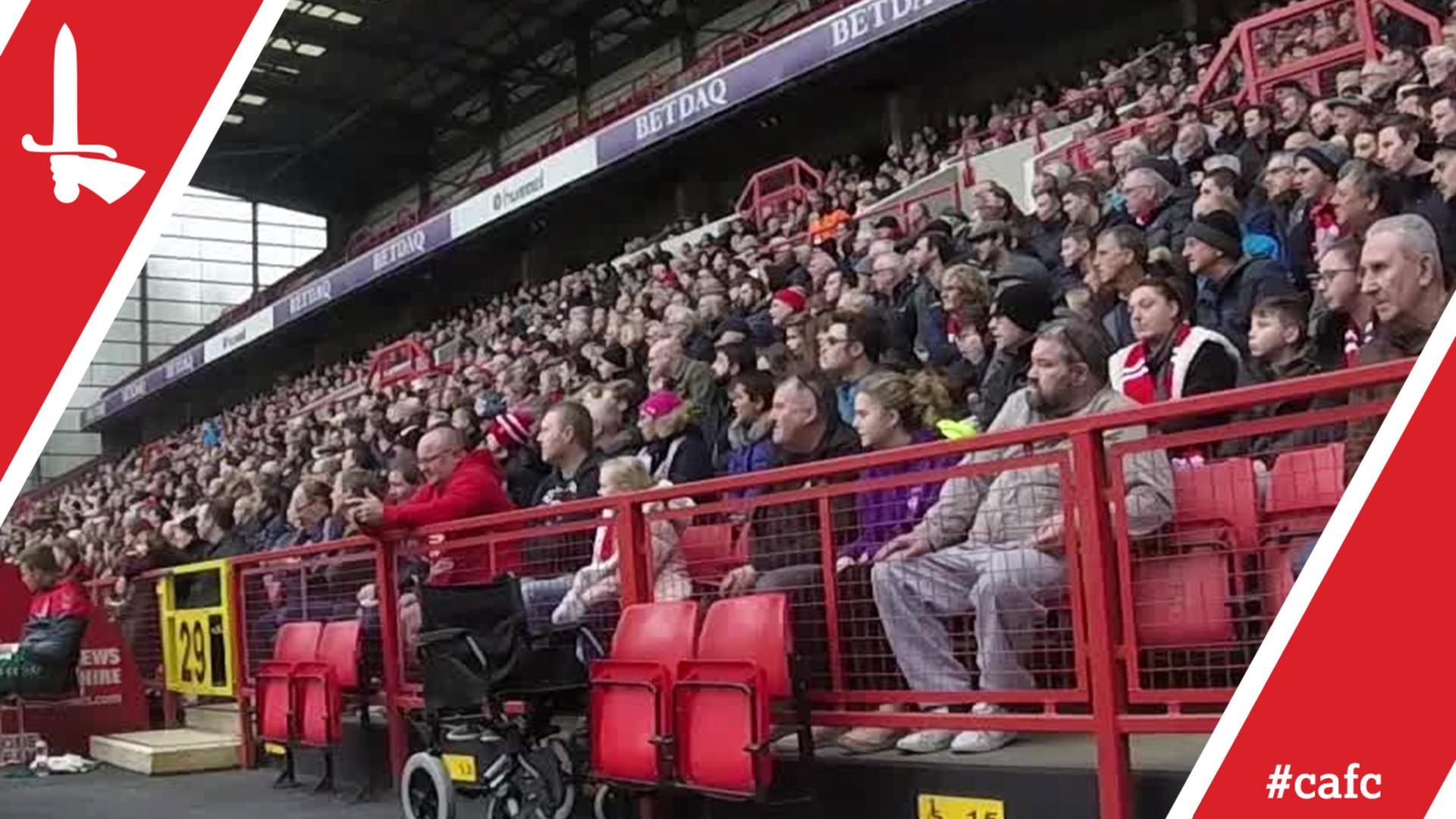FAN CAM | Charlton 3 Truro City 1