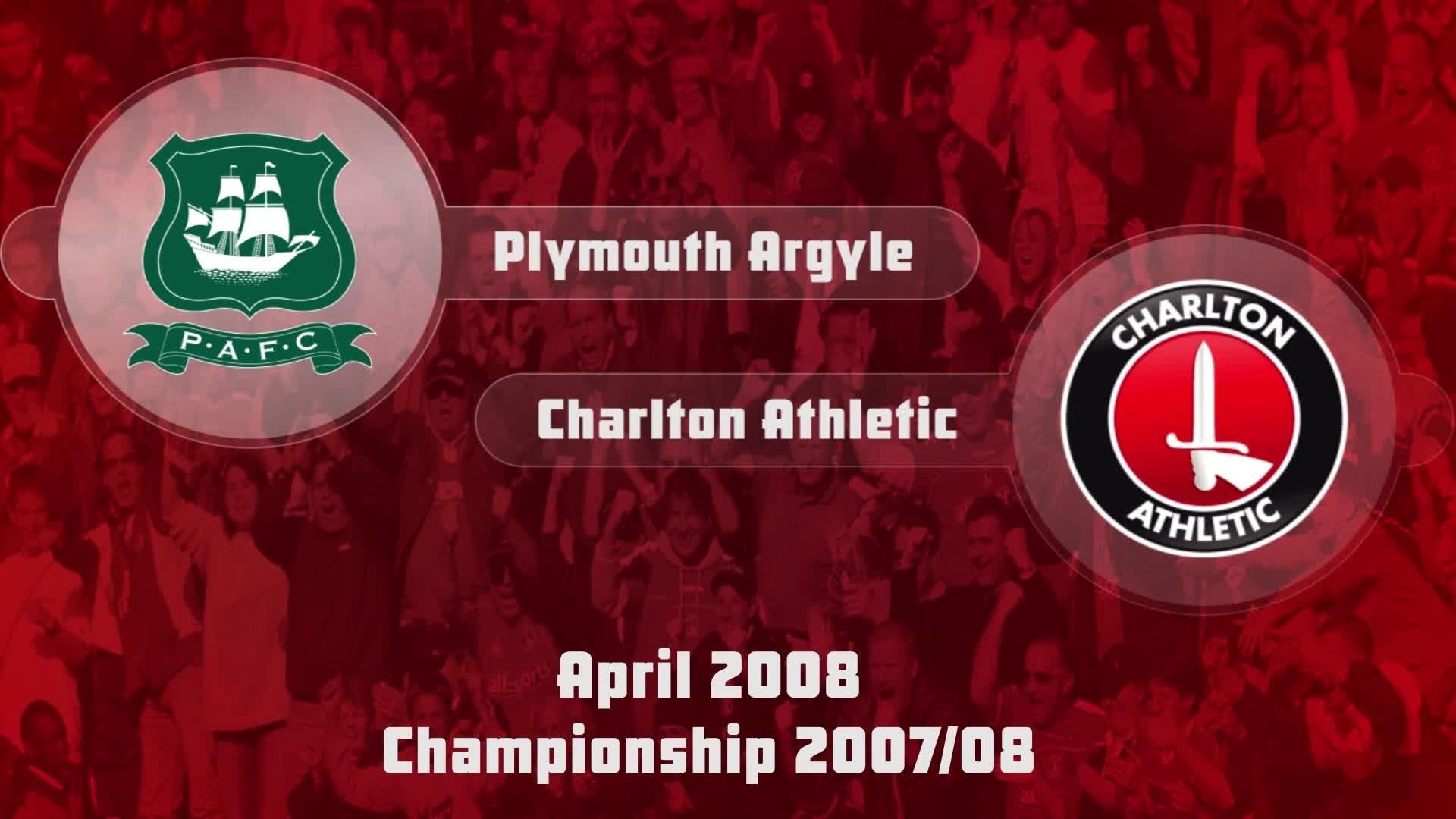 47 HIGHLIGHTS | Plymouth 1 Charlton 2 (April 2008)