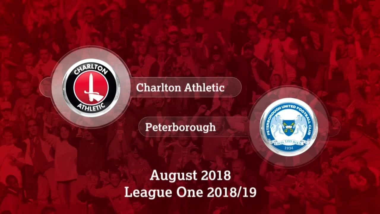 HIGHLIGHTS | Charlton 0 Peterborough 1 (Aug 2018)