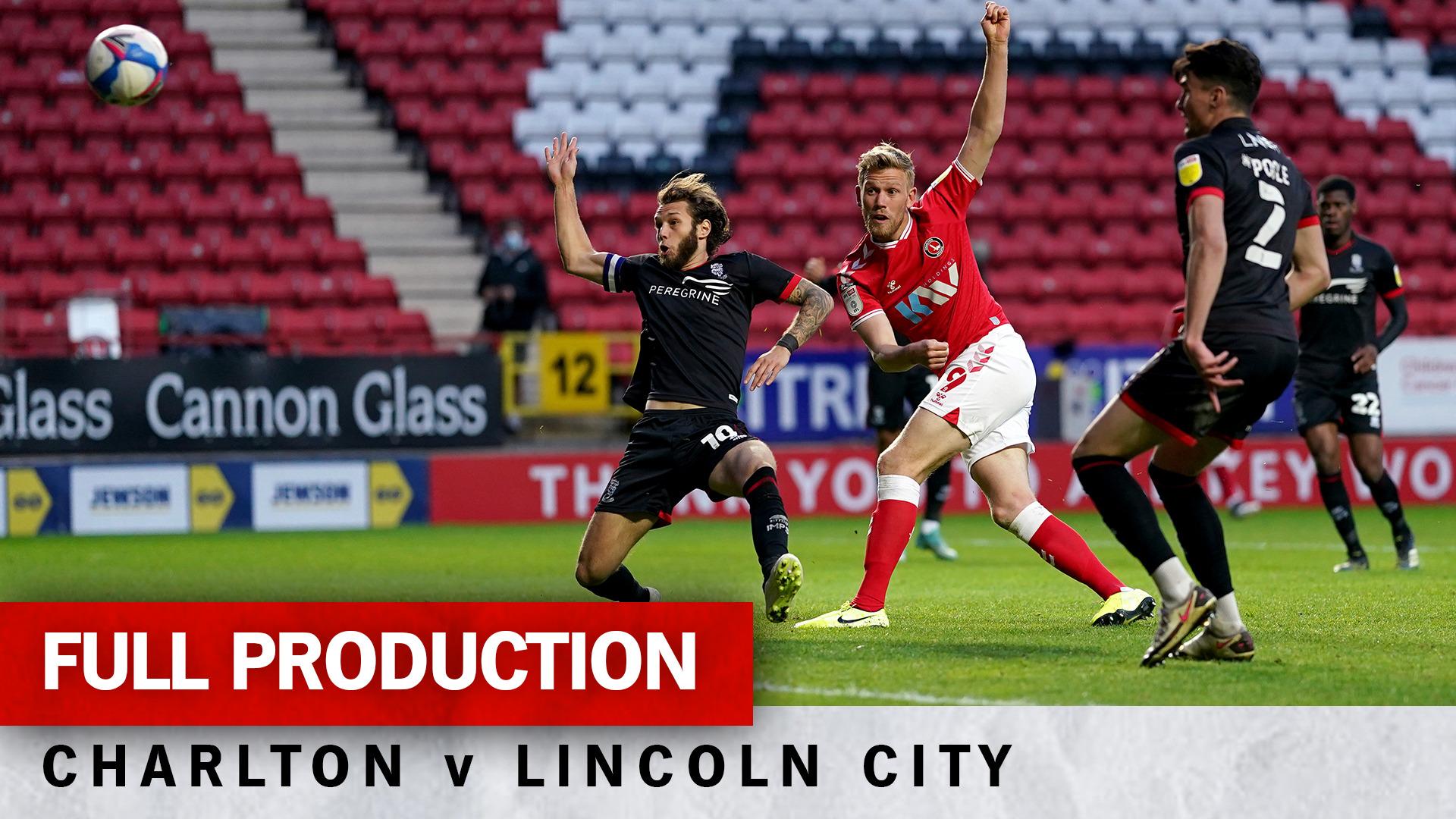 Charlton TV | Full broadcast - Lincoln City (h) (May 2021)