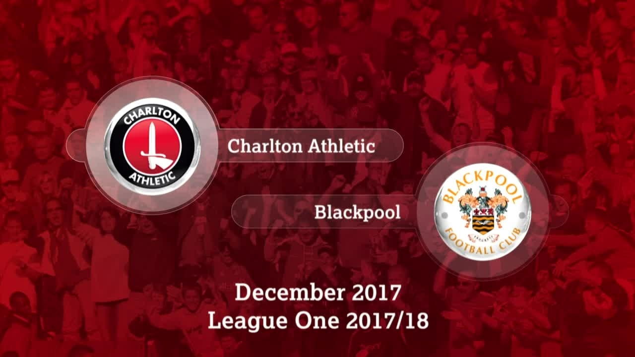 GOALS | Charlton 1 Blackpool 1 (Dec 17)