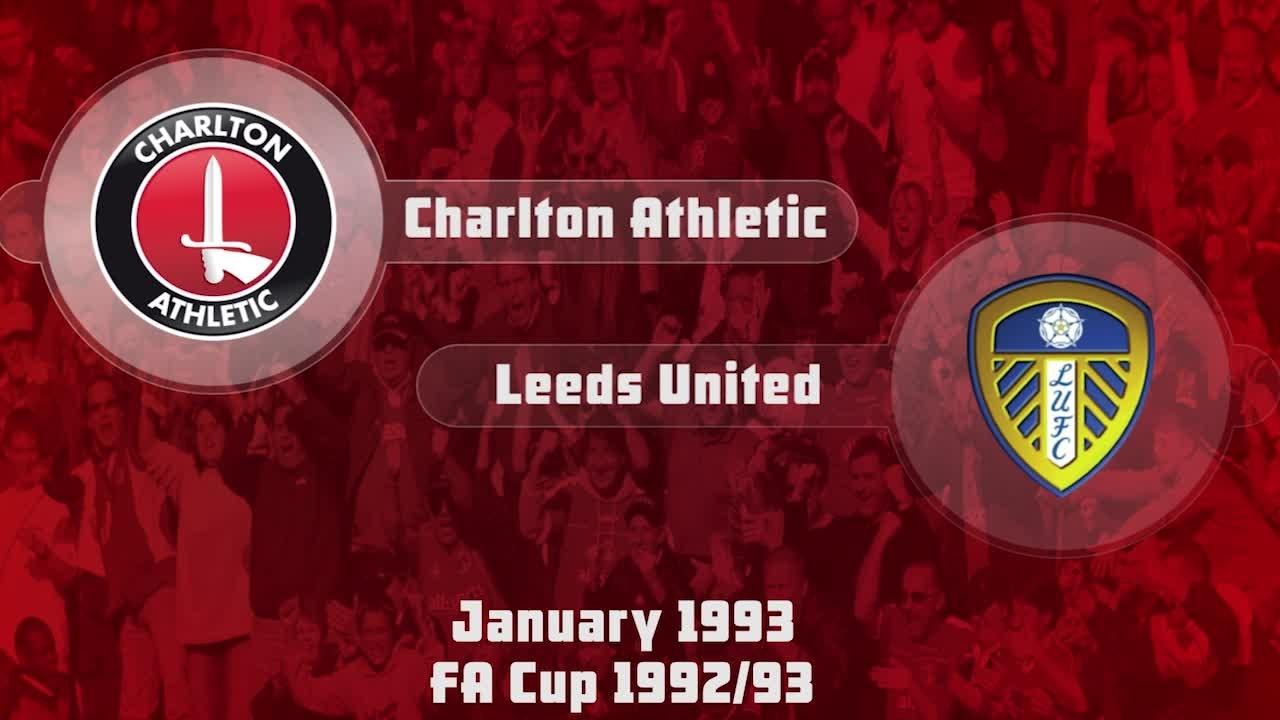 31 HIGHLIGHTS | Charlton 1 Leeds 3  (FA Cup Jan 1993)