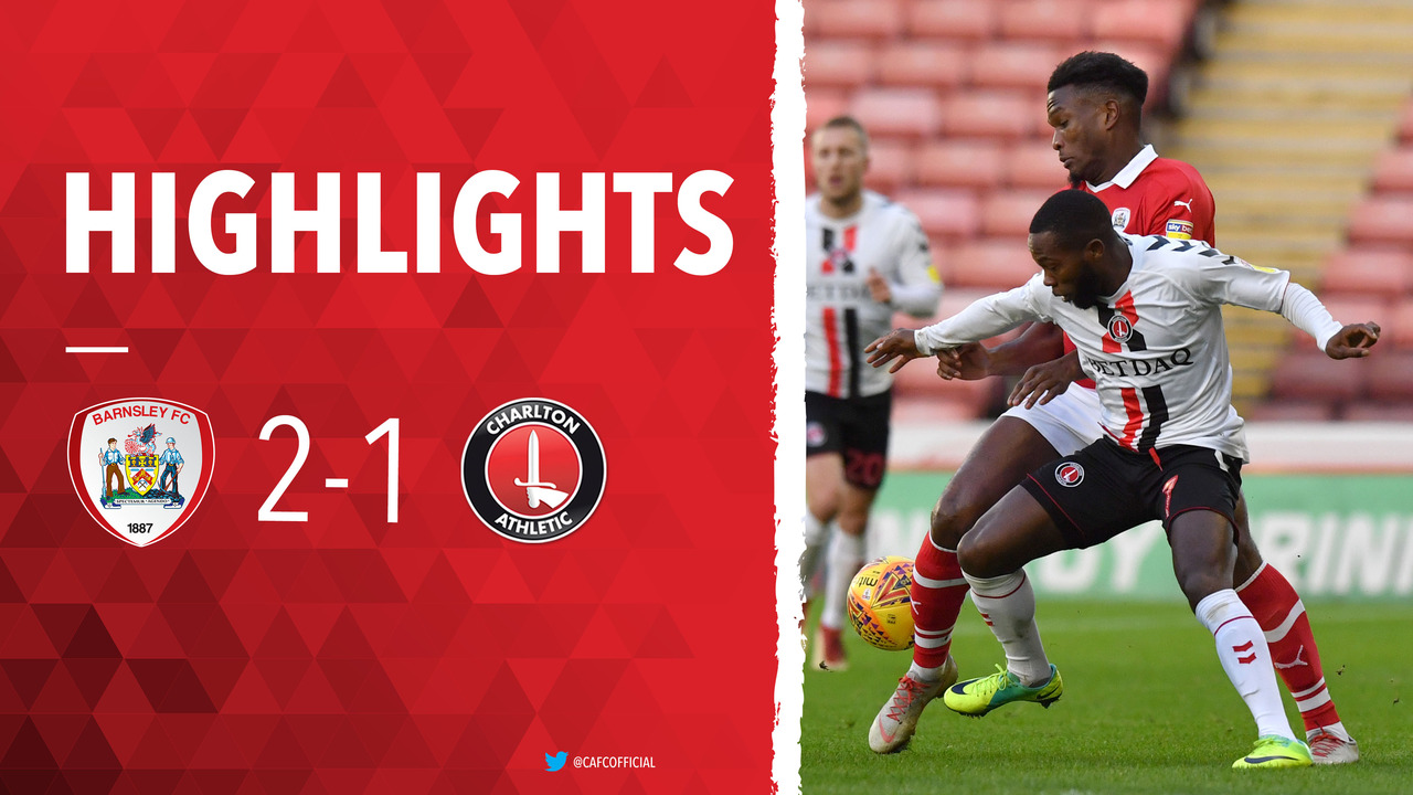 32 HIGHLIGHTS | Barnsley 2 Charlton 1 (December 2018)