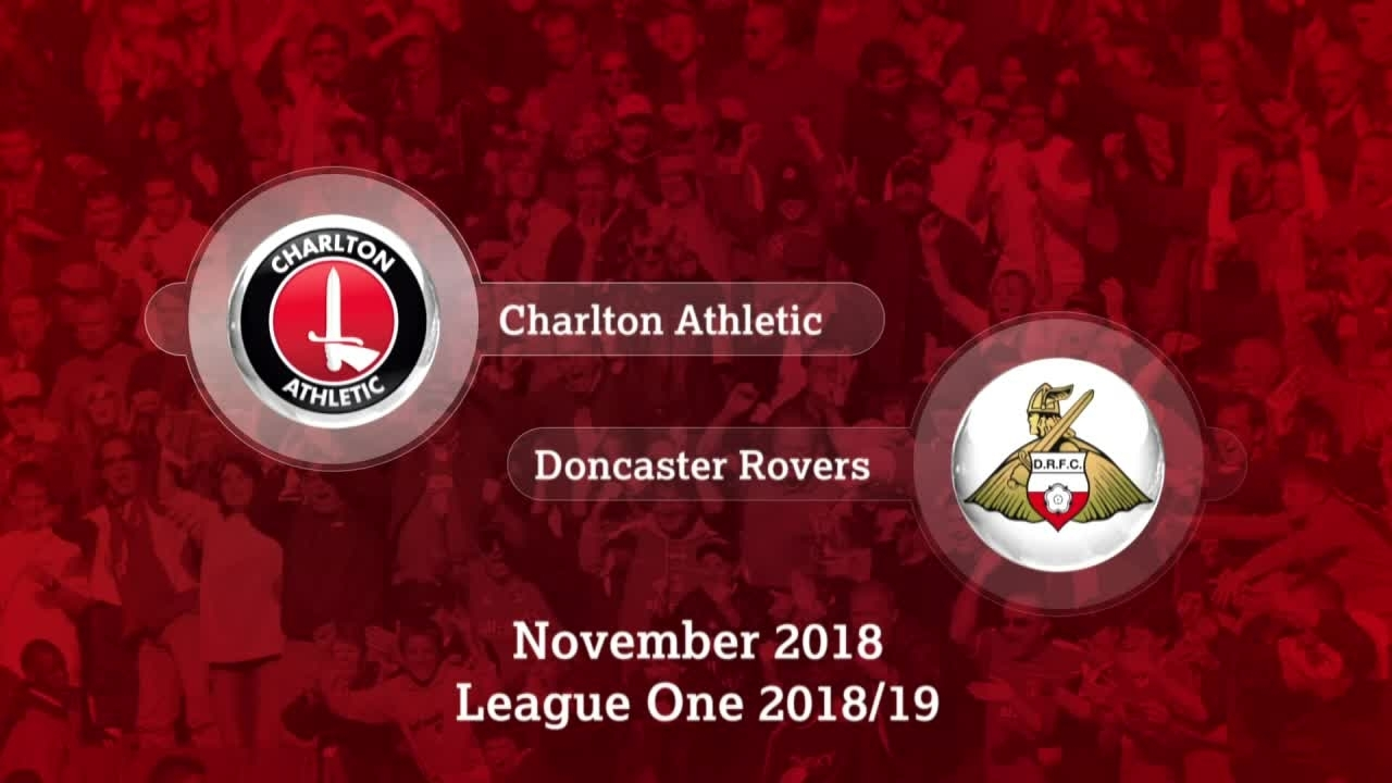 GOALS | Charlton 2 Doncaster Rovers 0 (November 2018)