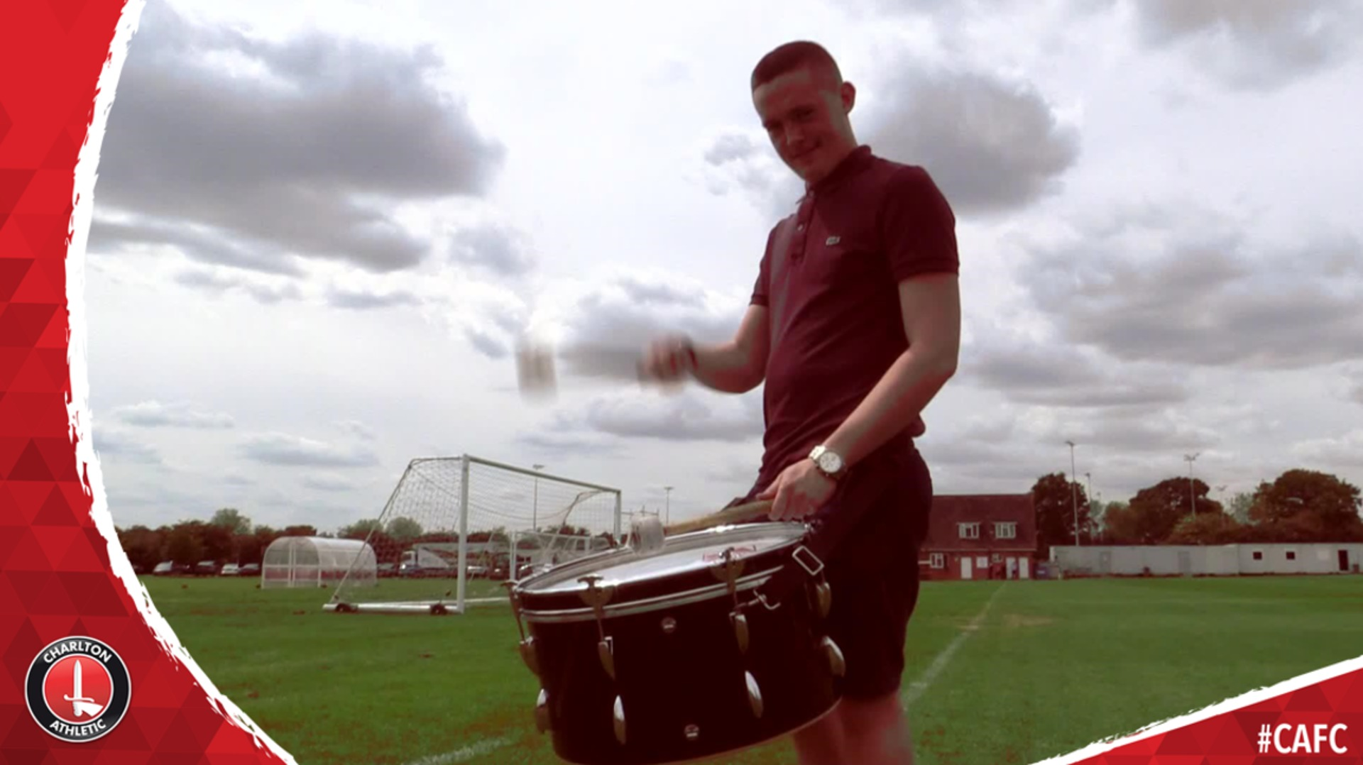 Meet the Covered End drummer