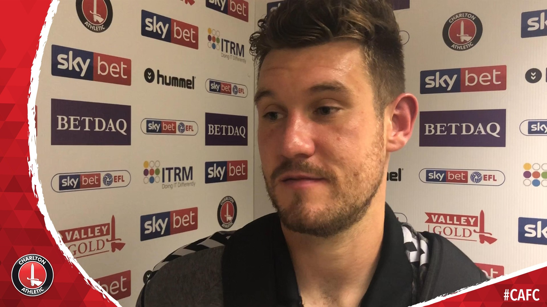 Jed Steer delighted with Charlton's win over Barnsley