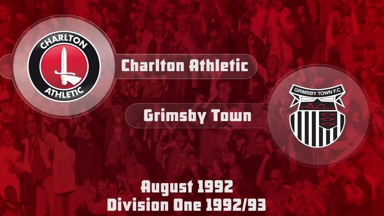 01 HIGHLIGHTS | Charlton 3 Grimsby 1 (Aug 1992)