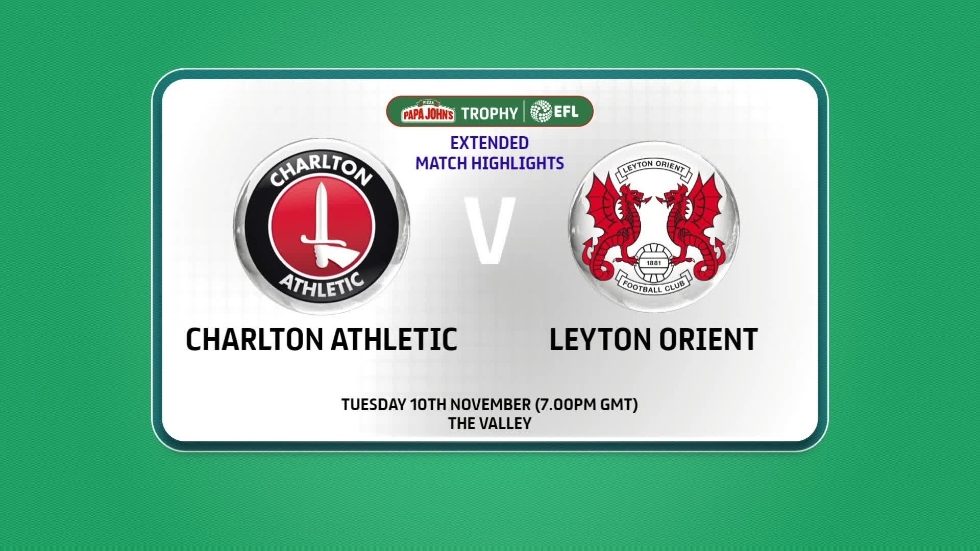 EXTENDED HIGHLIGHTS | Charlton 3 Leyton Orient 1 (November 2020)