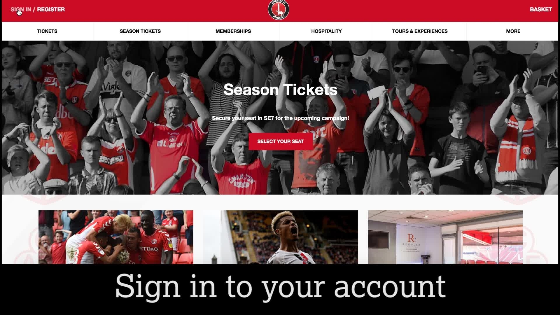 Buying playoff tickets | How to purchase your season ticket seat for the play-offs