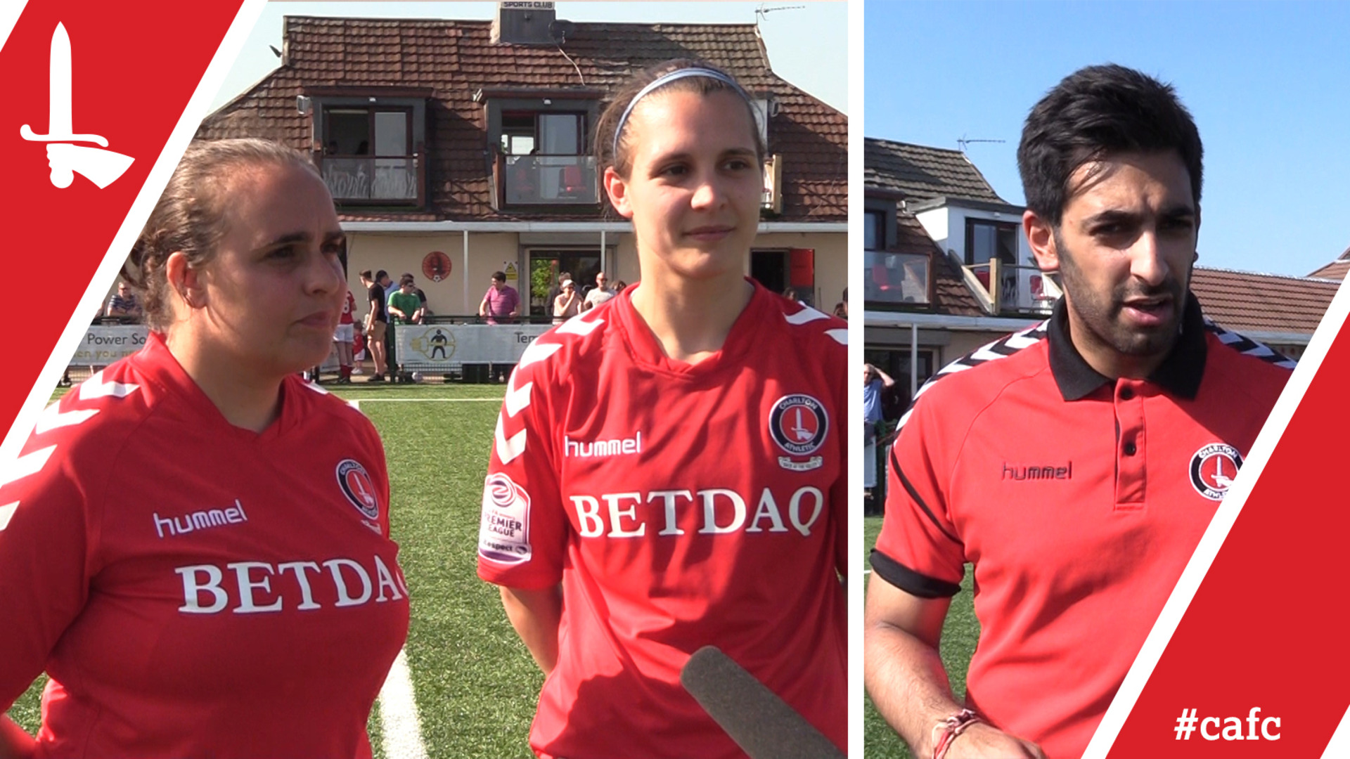 WOMEN'S REACTION | Riteesh Mishra, Kim Dixson and Olivia Lukasewich reflect on Palace cup win