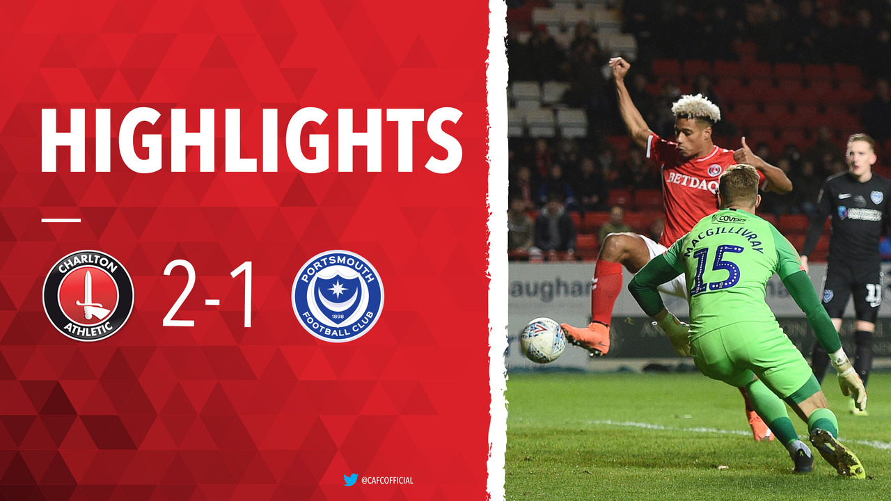43 HIGHLIGHTS | Charlton 2 Portsmouth 1 (March 2019)
