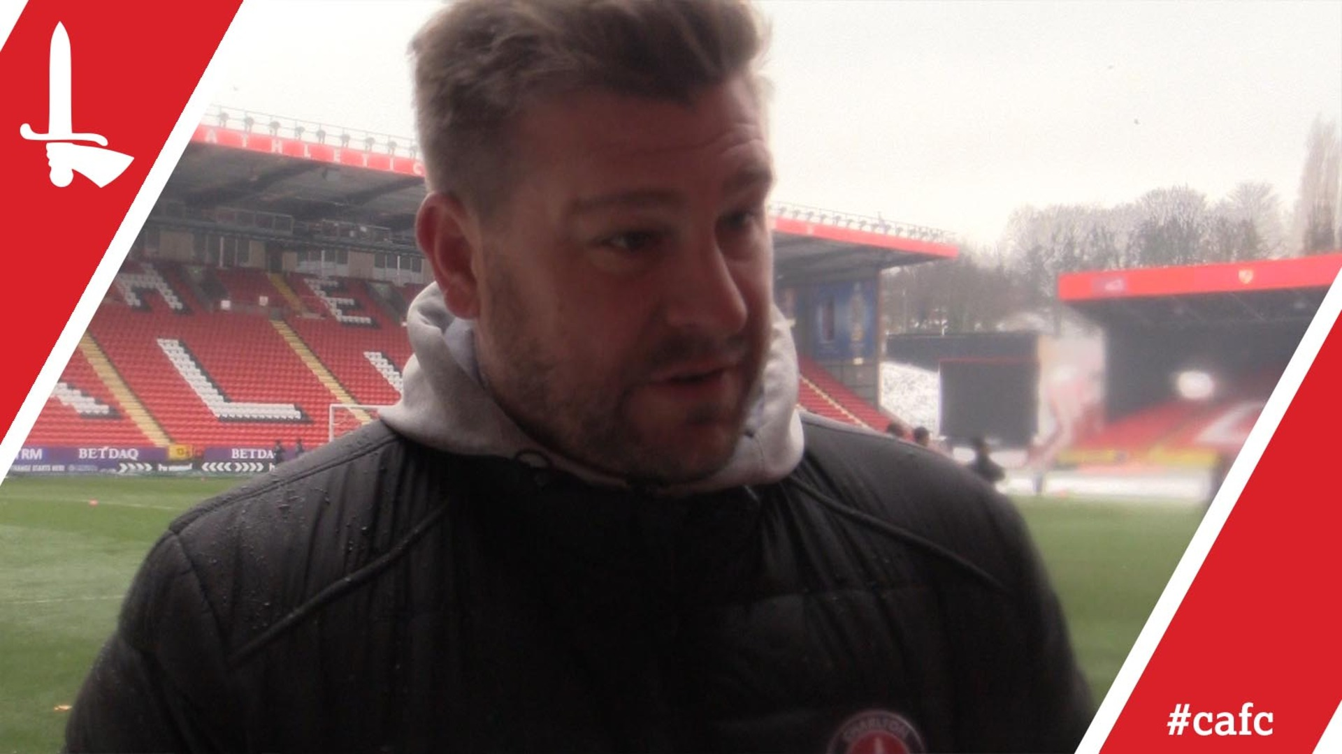 Karl Robinson on training in the snow and AFC Wimbledon postponement