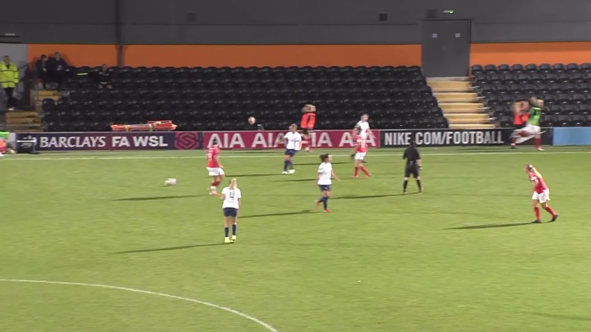WOMEN'S TEAM | Tottenham Hotspur 1 Charlton 0 (October 2021)