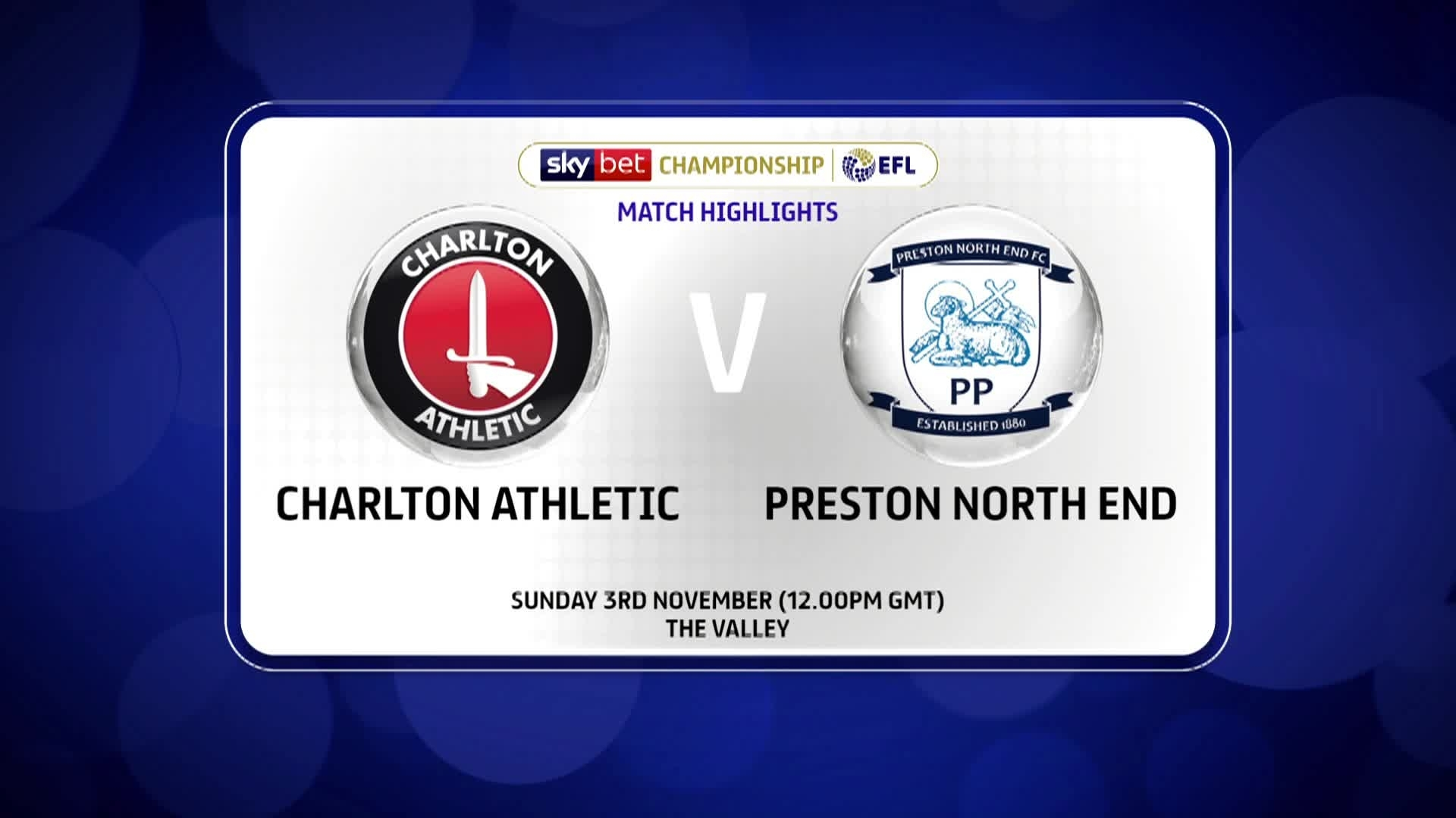 GOALS | Charlton 0 Preston North End 1 (November 2019)