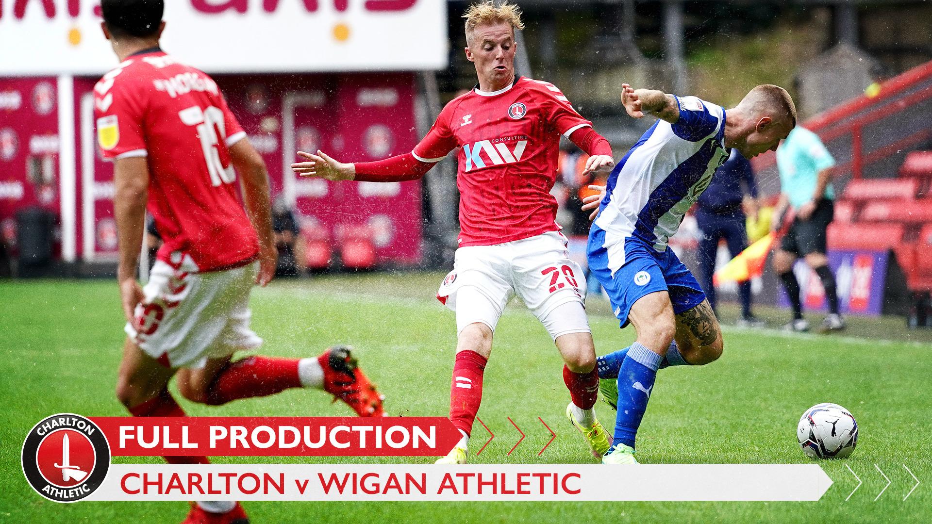 CharltonTV | Full broadcast - Wigan (h) (August 2021)