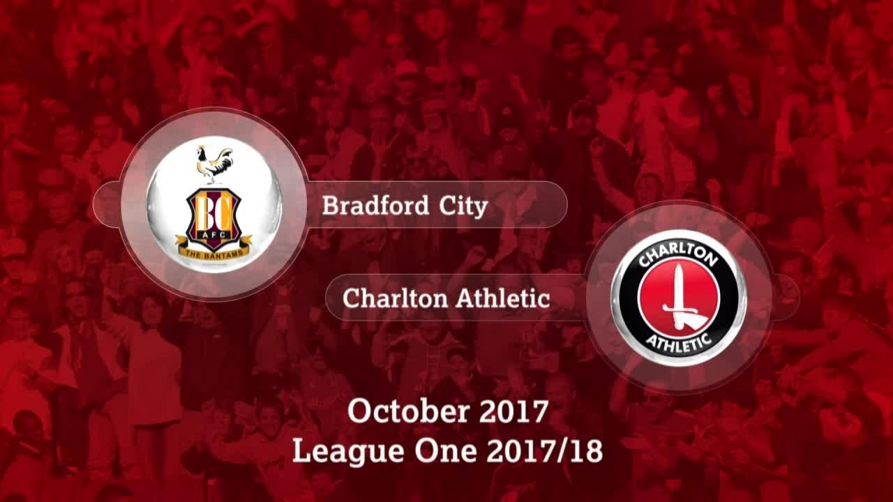 GOALS | Bradford 0 Charlton 1