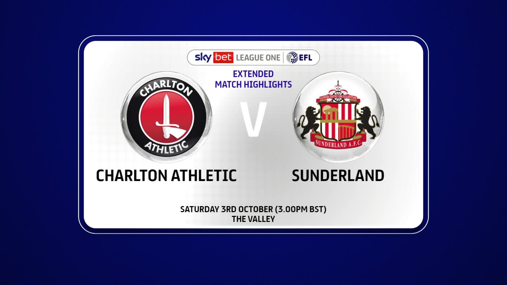 EXTENDED HIGHLIGHTS | Charlton 0 Sunderland 0 (October 2020)