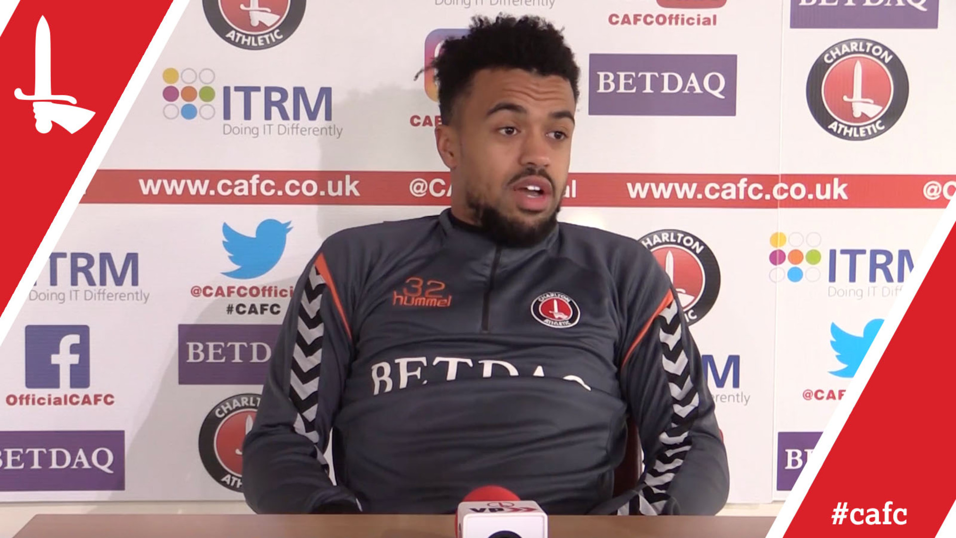 "Nicky Ajose ""delighted"" to be back at Charlton"