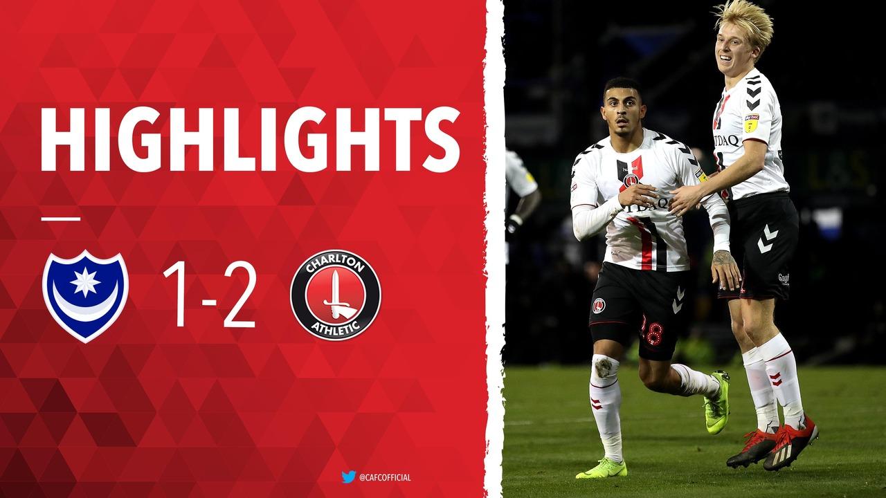 28 HIGHLIGHTS | Portsmouth 1 Charlton 2 (December 2018)