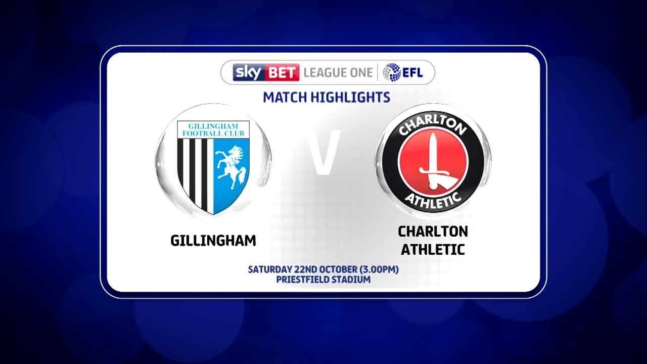 17 HIGHLIGHTS  | Gillingham 1 Charlton 1 (Oct 2016)