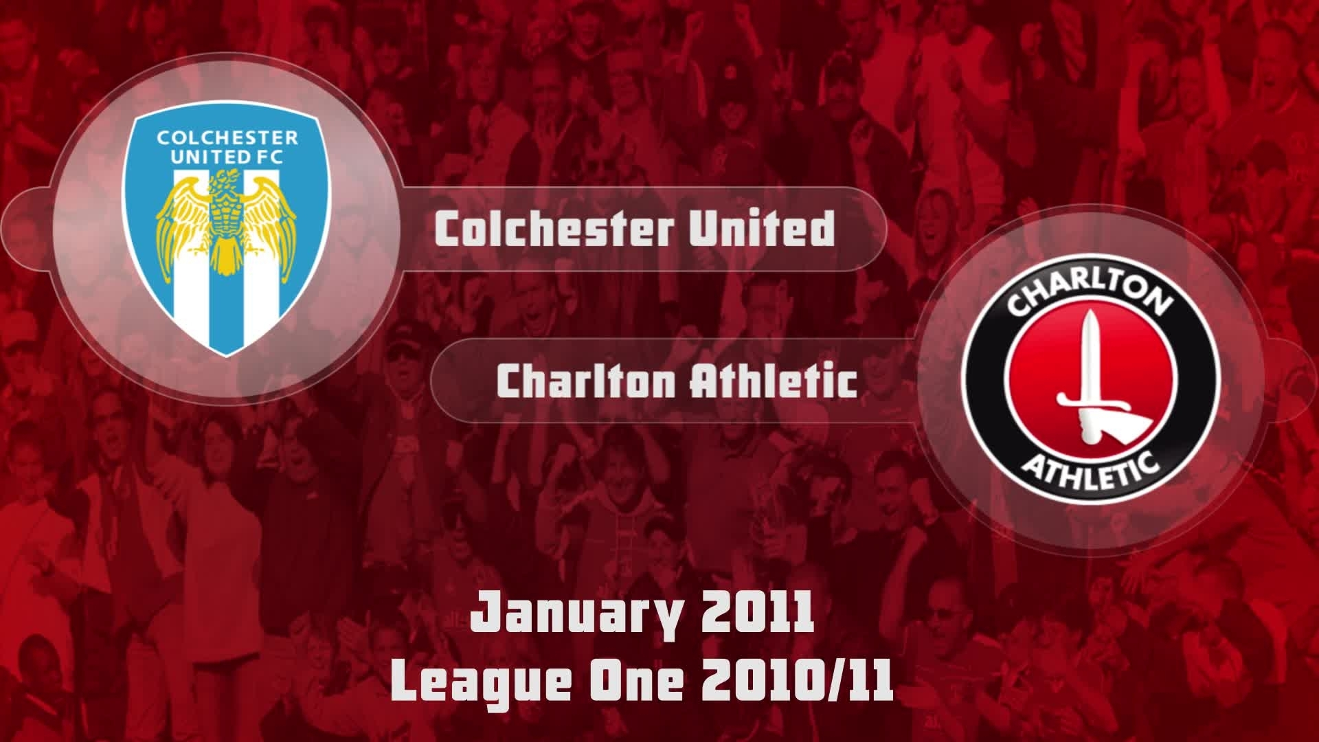 30 HIGHLIGHTS | Colchester 3 Charlton 3 (Jan 2011)