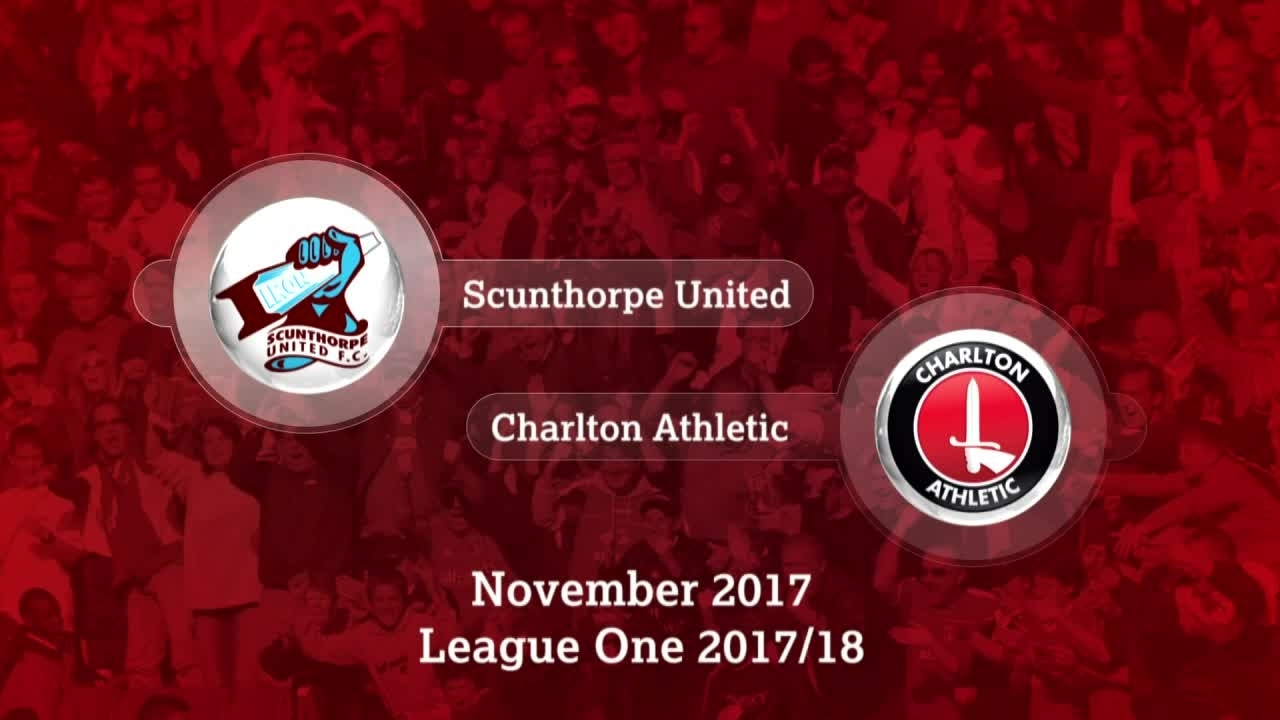 GOALS | Scunthorpe 2 Charlton 0 (Nov 2017
