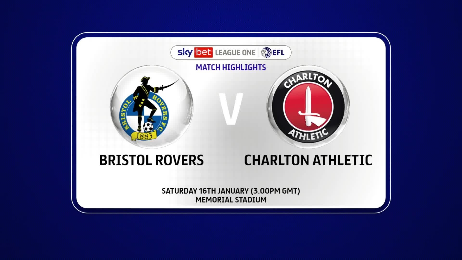 HIGHLIGHTS | Bristol Rovers 0 Charlton 1 (January 2021)