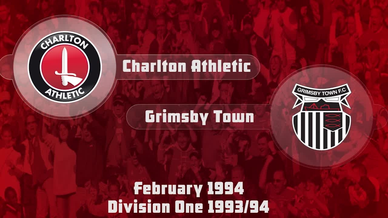 38 HIGHLIGHTS | Charlton 0 Grimsby 1 (Feb 1994)