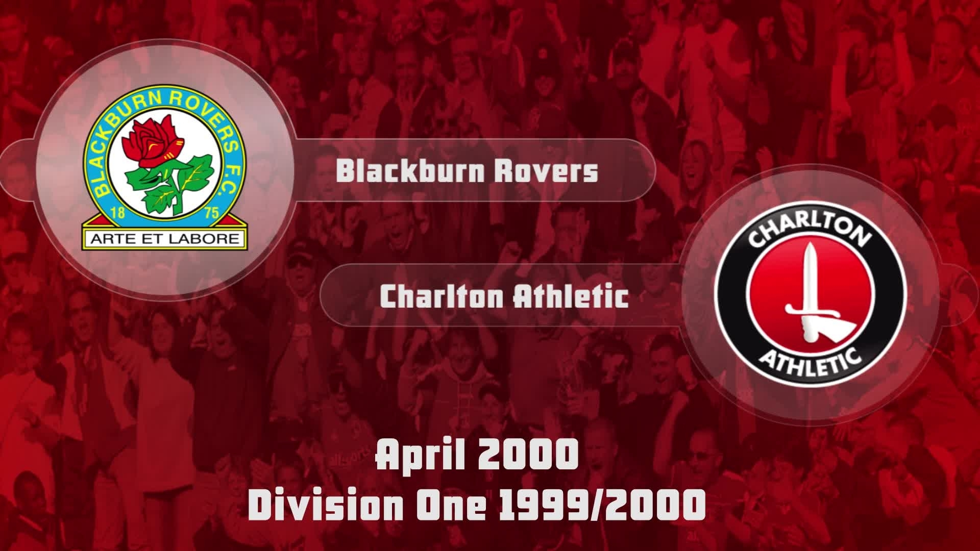 50 HIGHLIGHTS | Blackburn 1 Charlton 1 (April 2000)