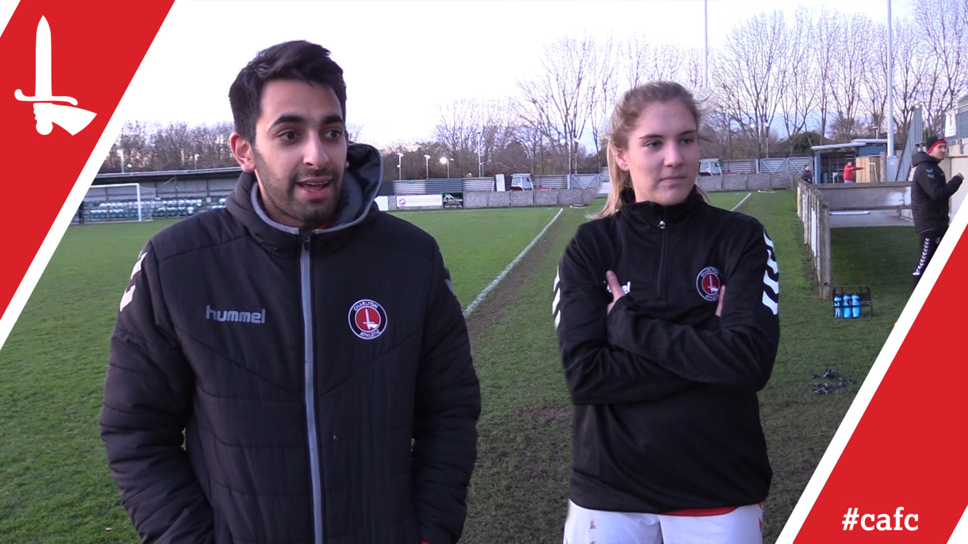 WOMEN'S REACTION | Riteesh Mishra and Chloe Brunton-Wilde pleased with Swindon win