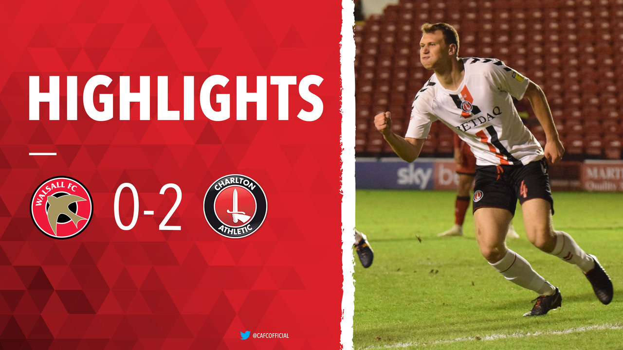 20 HIGHLIGHTS | Walsall 0 Charlton 2 (November 2018)