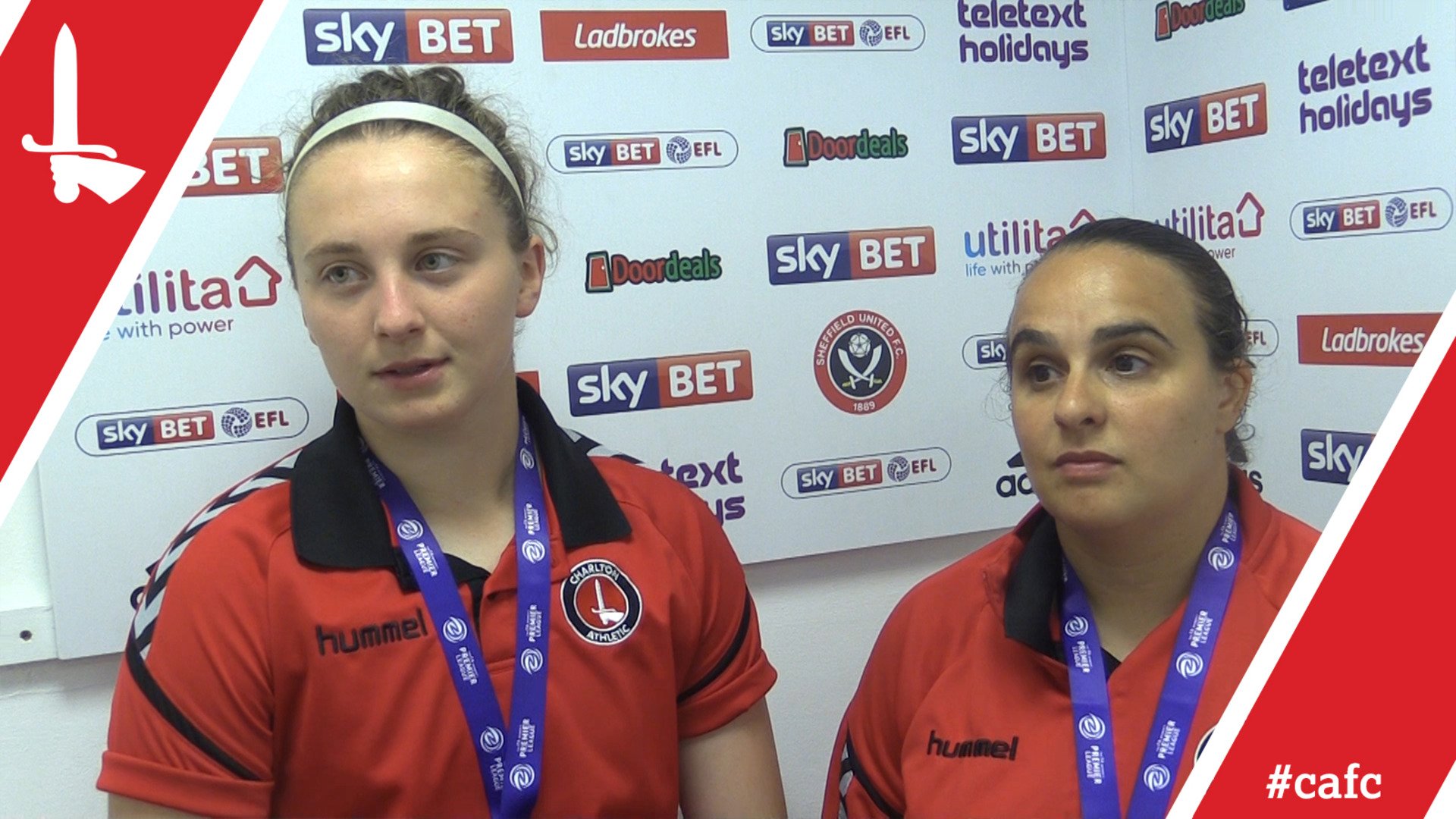 REACTION | Katie Startup and Kim Dixson pleased with Blackburn victory (May 2018)