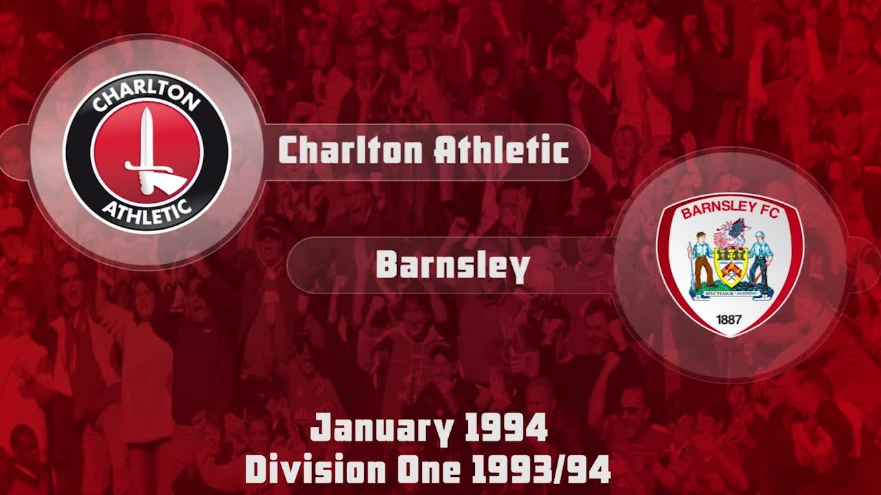 36 HIGHLIGHTS | Charlton 2 Barnsley 1 (Jan 1994)