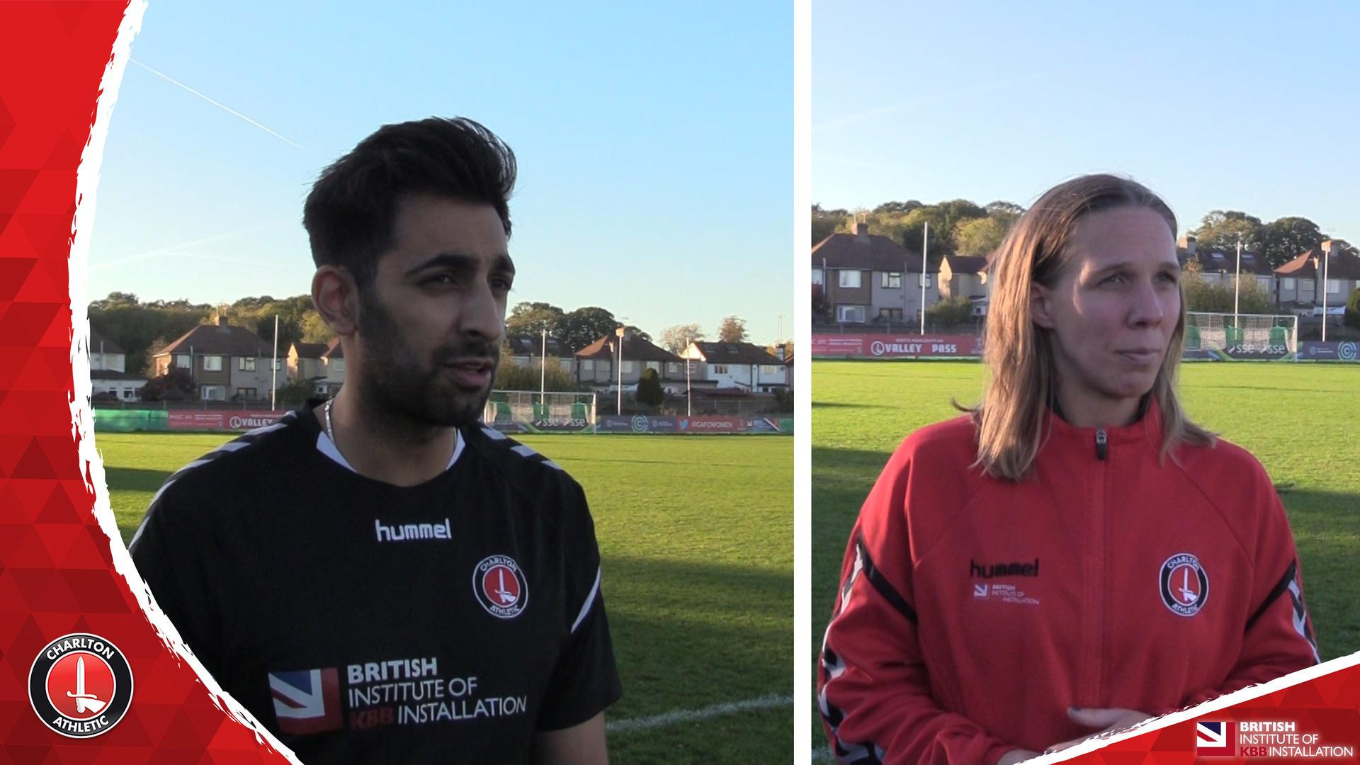 WOMEN'S REACTION | Riteesh Mishra and Charlotte Gurr reflect on Sheff Utd victory