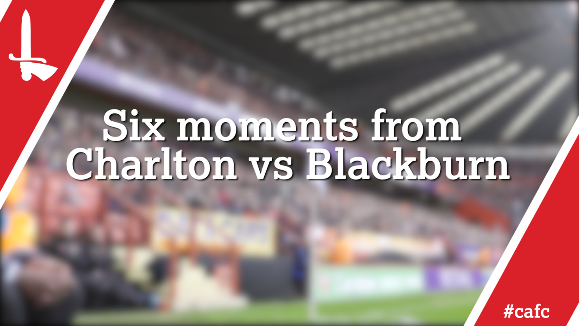 Six moments from Charlton vs Blackburn