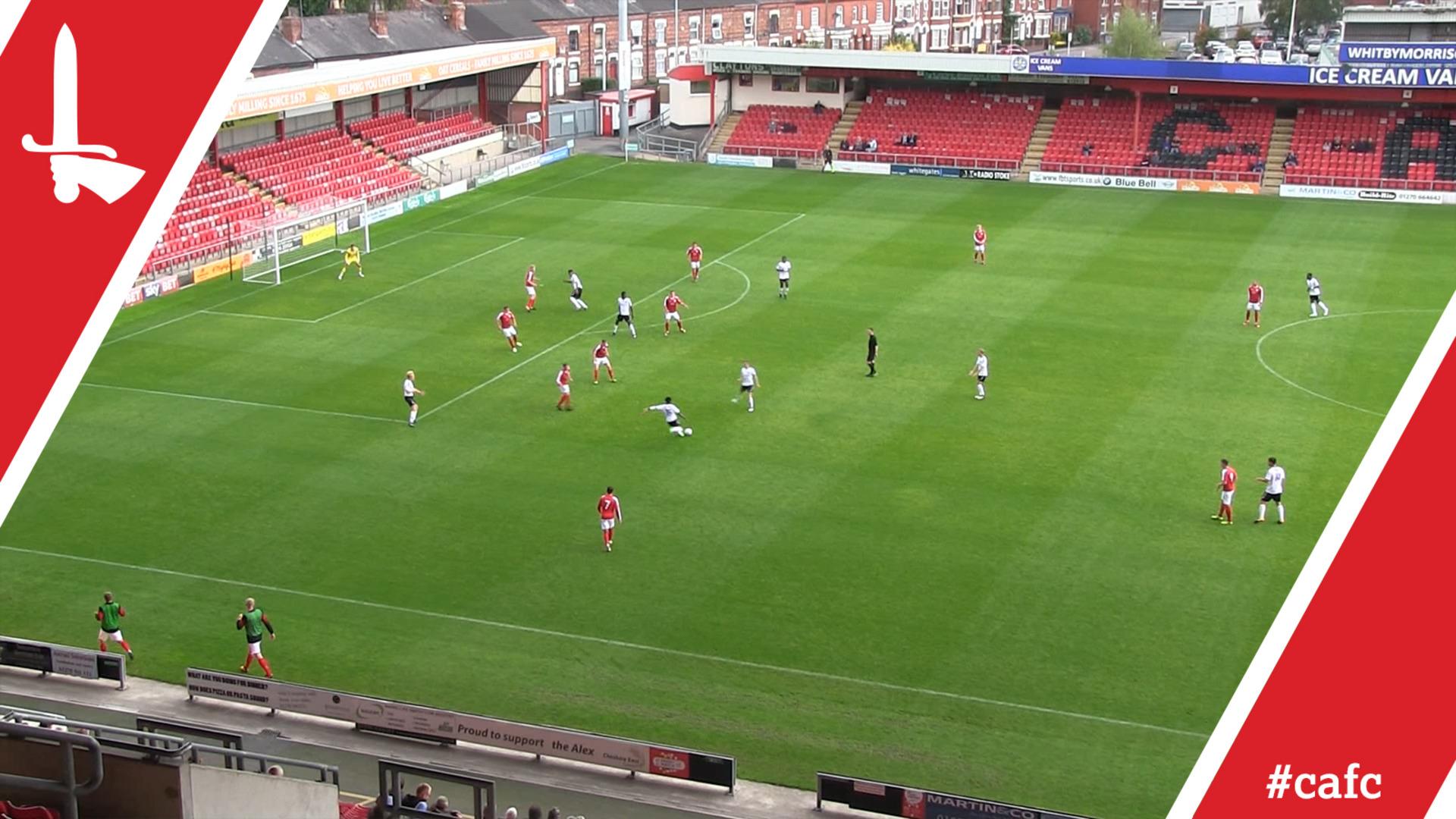 U23 HIGHLIGHTS | Crewe 1 Charlton 4