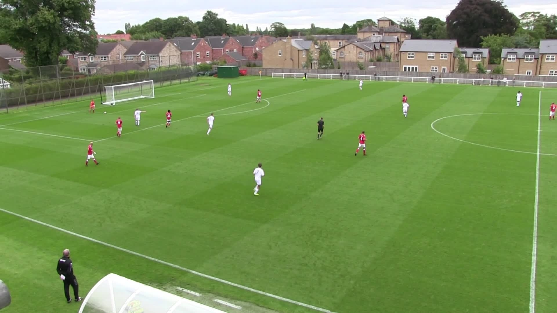 U18 HIGHLIGHTS | Leeds United 1 Charlton 2