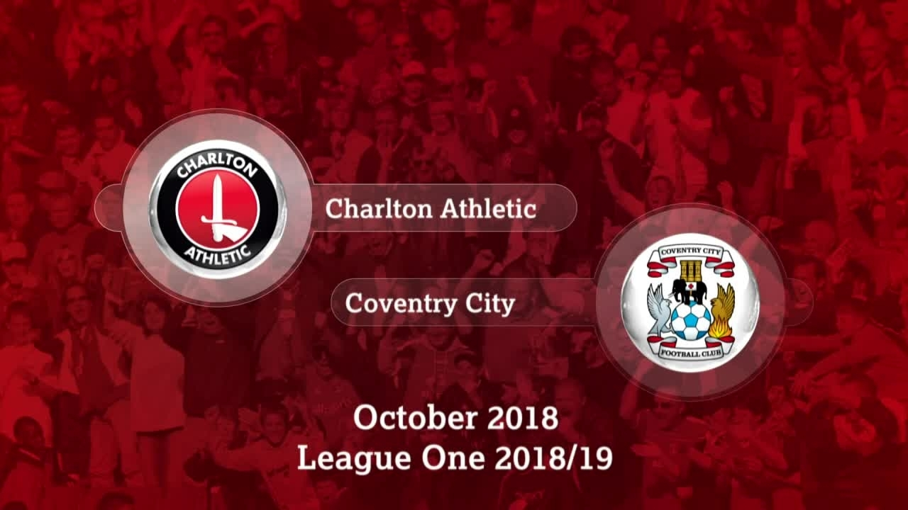 GOALS | Charlton 1 Coventry City 2 (October 2018)