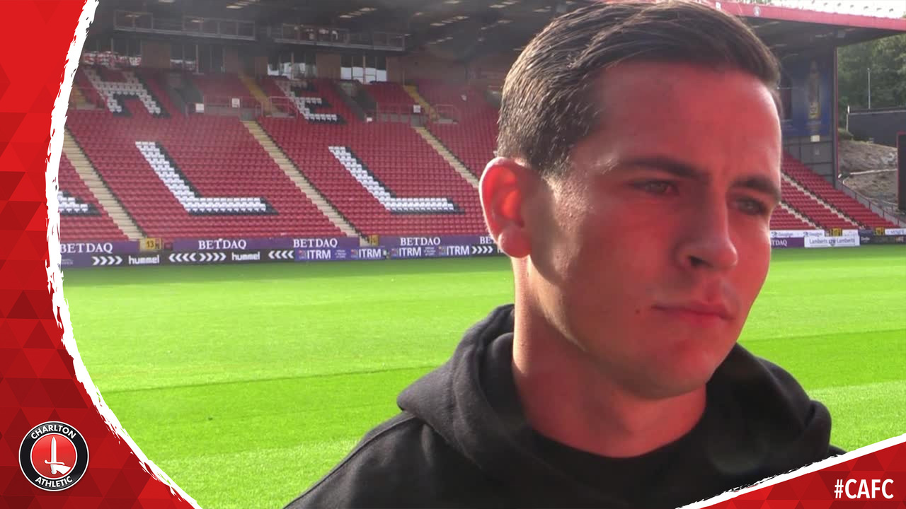 FIRST INTERVIEW | Josh Cullen signs for Charlton