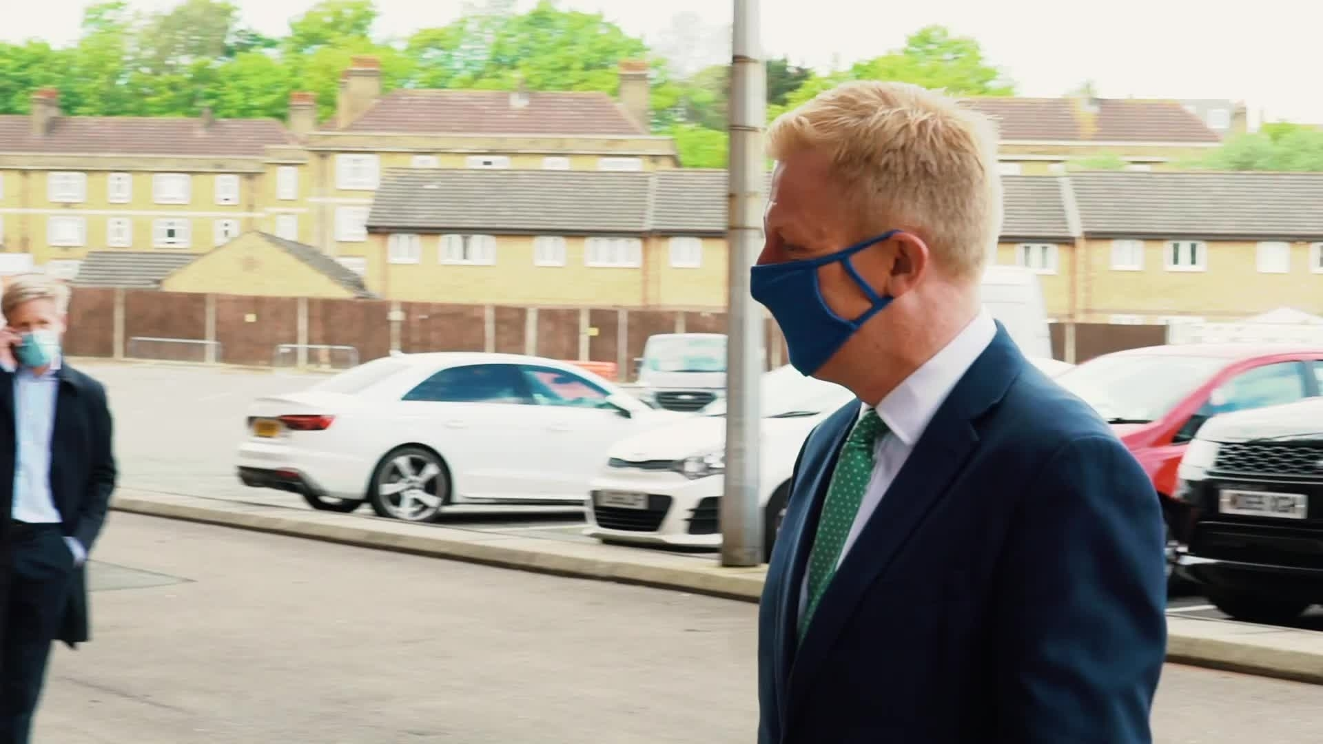 Charlton hosted DCMS Secretary of State Oliver Dowden ahead of launch of the Online Safety Bill (May 2021)