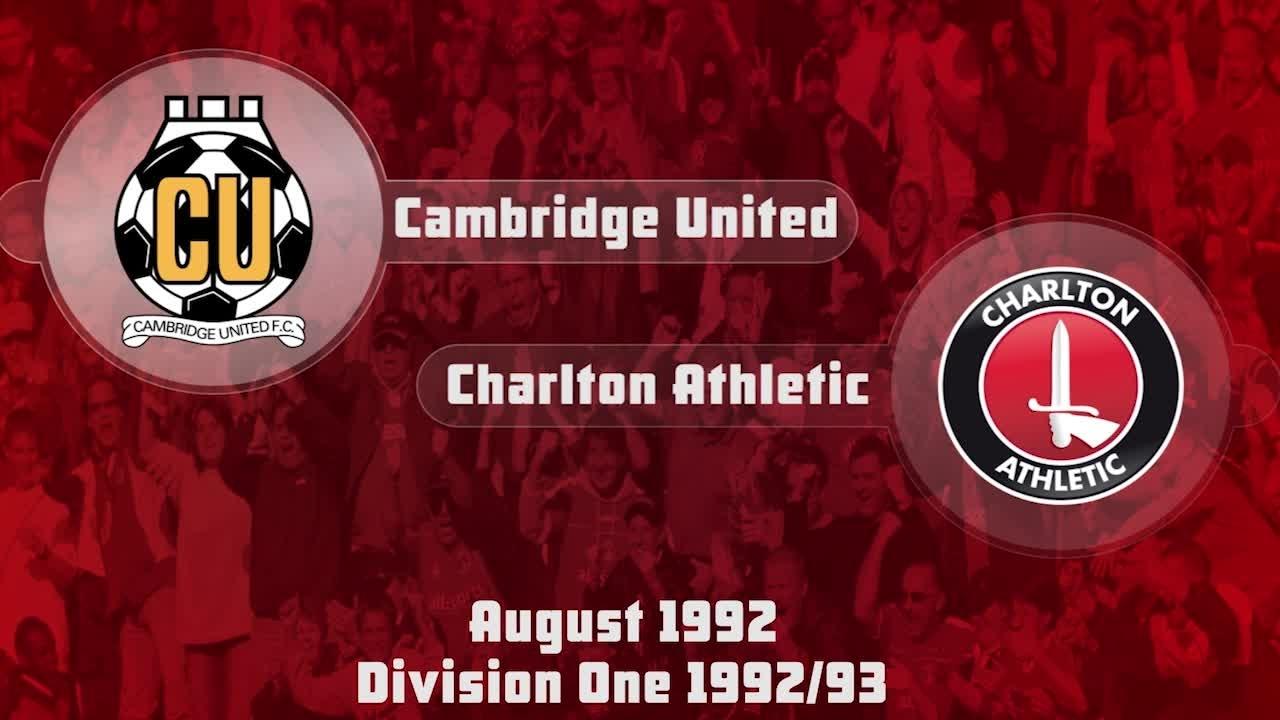 02 HIGHLIGHTS | Cambridge 0 Charlton 1 (Aug 1992)