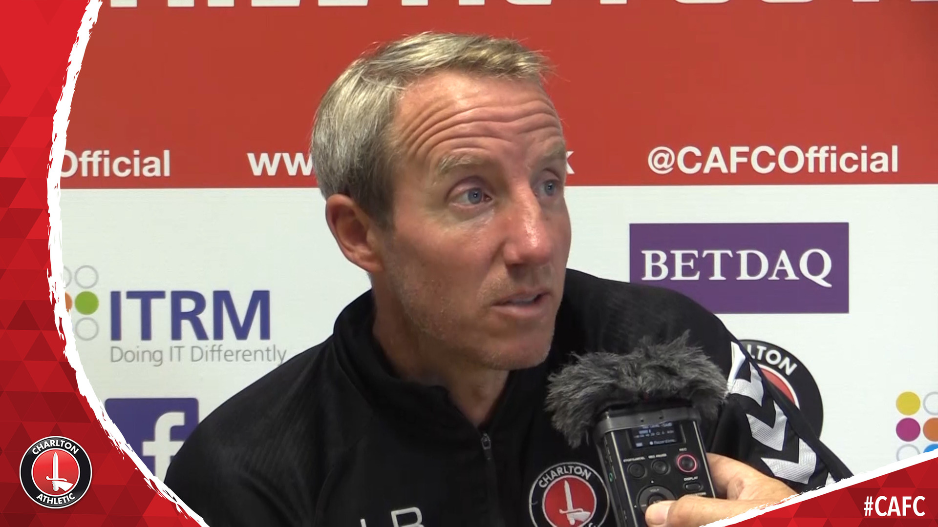 Lee Bowyer's pre-Accrington Stanley press conference (August 2018)