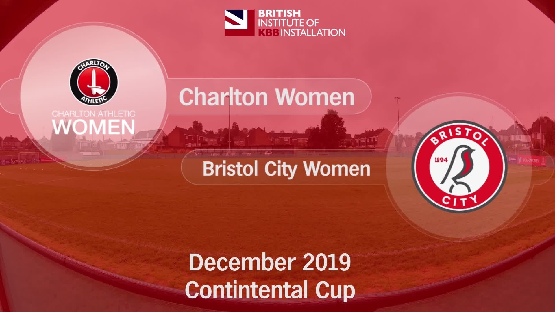 HIGHLIGHTS | Charlton Women 2 Bristol City 5 (Conti Cup Dec 2019)
